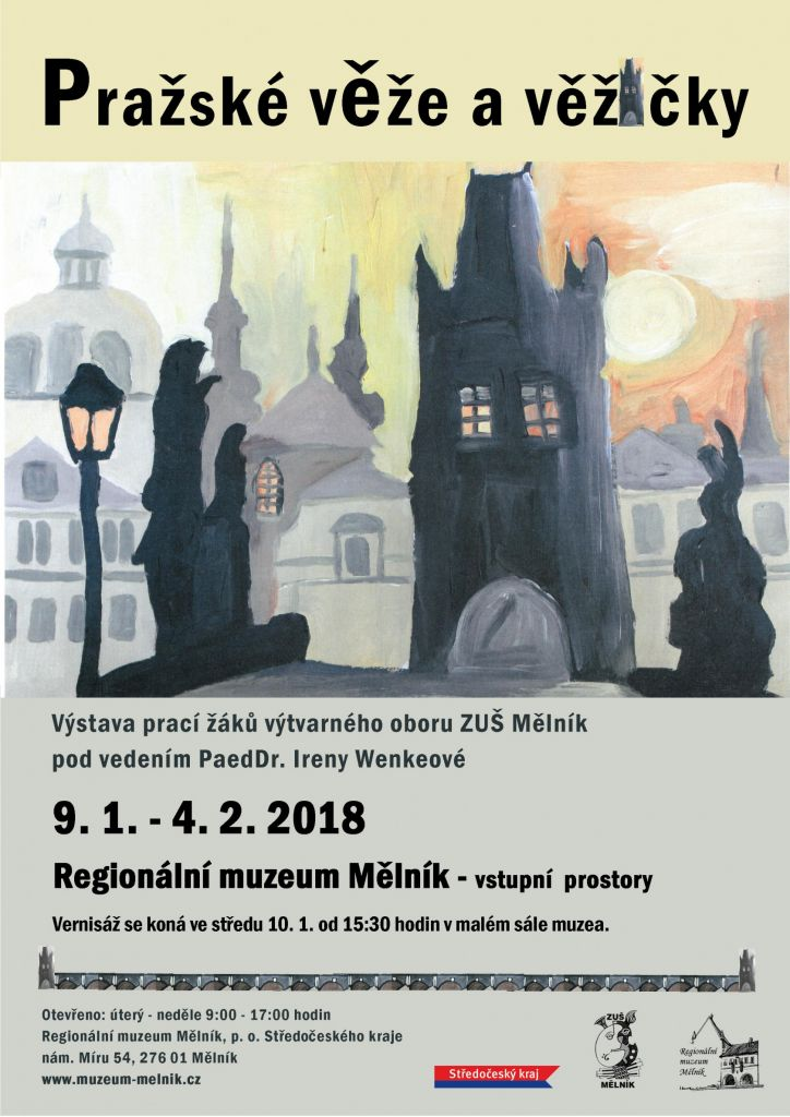 Plakát_Pražské věže a věžičky