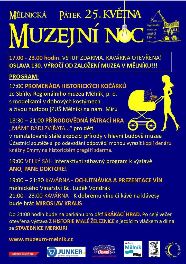 Mělnická muzejní noc 2018