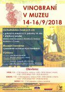 Vinobraní v muzeu 2018