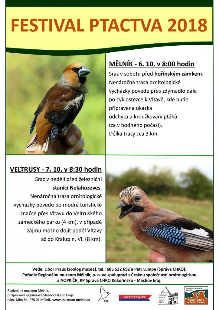 Festival ptactva Veltrusy