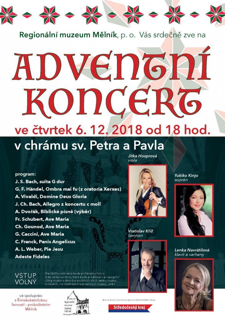 Adventní koncert Mělník