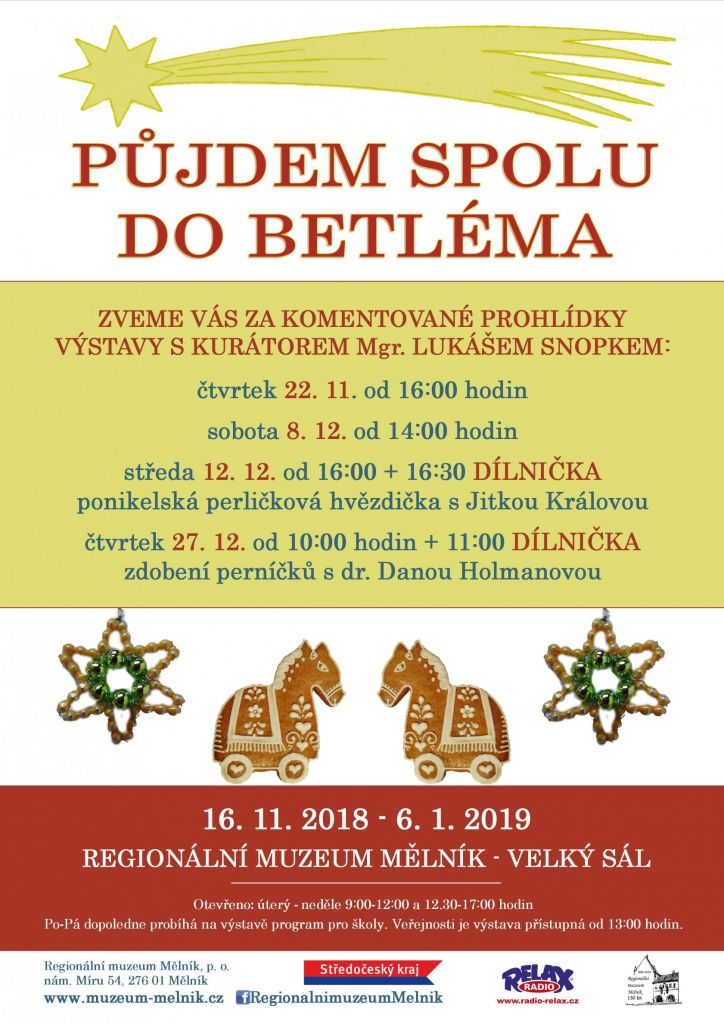 Půjdem spolu do Betléma - prohlídky