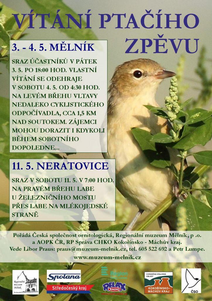 Vítání ptačího zpěvu Neratovice