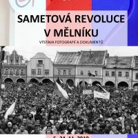 Sametová revoluce v Mělníku